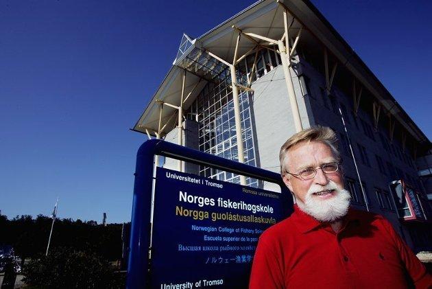 UiT-veteranen Bjørn Hersoug er kritisk både  til ansettelsen av rektor og utnvevnelsen av styreleder ved UiT. Foto: Nordlys