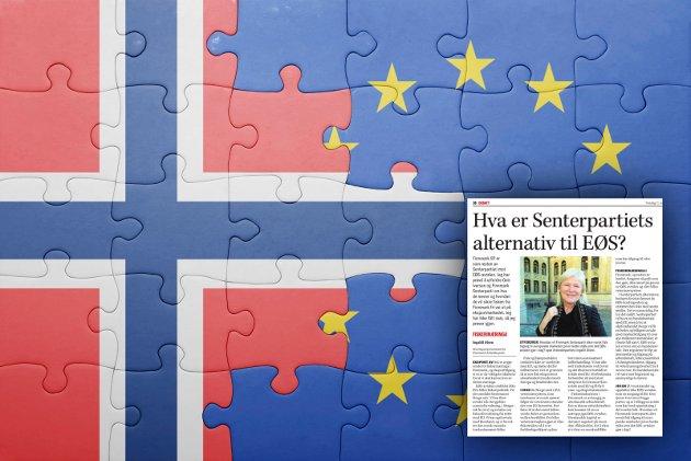 EUs grunnlov, nedfelt i Romatraktaten er «de fire friheter»: Fri flyt av varer, kapital, arbeid og tjenester. Skal «fri flyt» være Norges grunnlov, Ingalill Olsen? spør Nei til EU-leder i Tromsø, Kolbjørn Schanche.