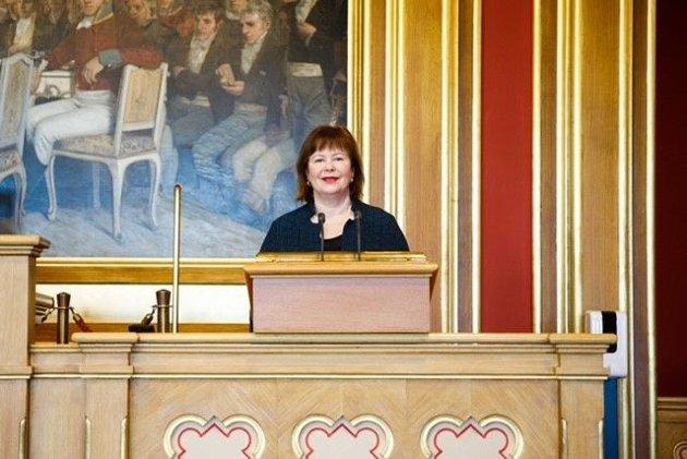 Senterpartiets stortingsrepresentant Siv Mossleth fra Nordland.