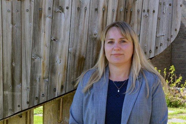 Fylkesråd for næring og miljø, Karine Eriksen (Sp).
