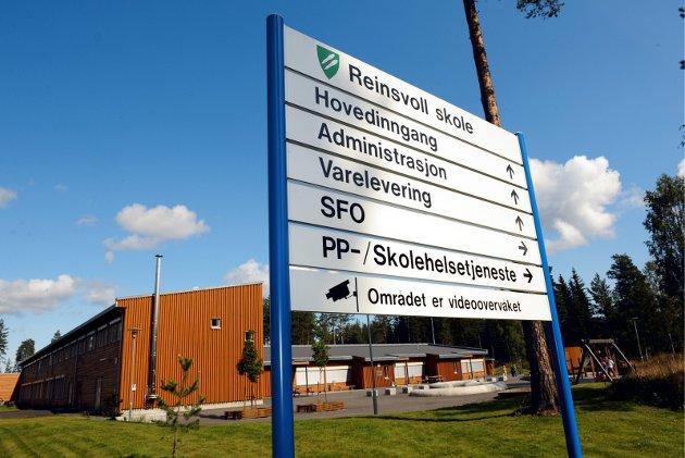 Arkivbilde Reinsvoll skole