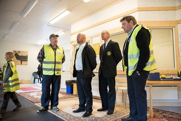 Tor Inge Skilbred, Anders Anundsen, Ole Brekke Waale, Larvik Skytterlag, åpning av banen, Tvedalen