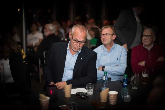 Rune Høiseth, Andre Lysnes, Valg 2019, valgvake, kommunevalg, Sanden, politikk, valg