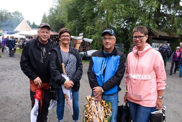 Kjetil Skogstad (fra venstre), Venke Smulan, Karl Ove Indal og Mona Indal