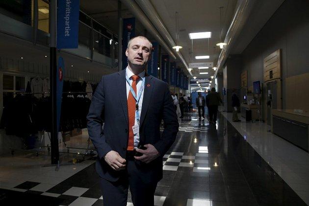 Trygdeoppgjøret: Robert Eriksson forhandlet frem er ikke godt nok for Frp's stortingspolitikere Foto: ANB