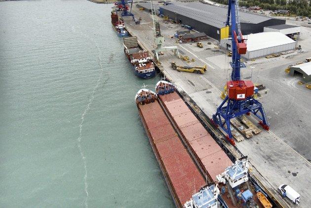 Satsing: Skal godsoverføring til sjø bli mer enn en intensjon må det satses, skriver Bernt Christoffer Aaby.