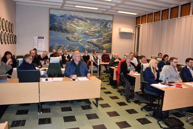 Fra ekstraordinært kommunestyremøte i Hemnes kommune 10. januar.