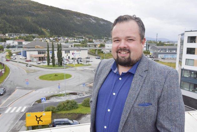 Direktør Ole Kolstad i Rana Utviklingsselskap ser stor nytte av et formelt samarbeid med Bodø kommune. Foto: Viktor Leeds Høgseth