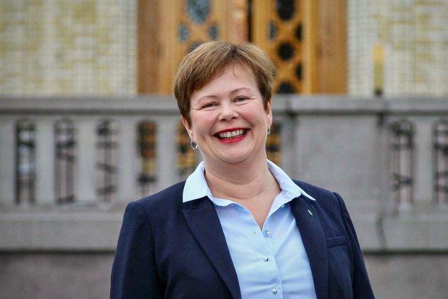 Stortingsrepresentant Siv Mossleth, Senterpartiet.