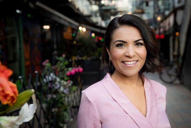 : Rima Iraki, vinneren av Riksmålsforbundets TV-pris i år, bruker et standardtalespråk som er lett for alle å forstå, påpeker Trond Vernegg.