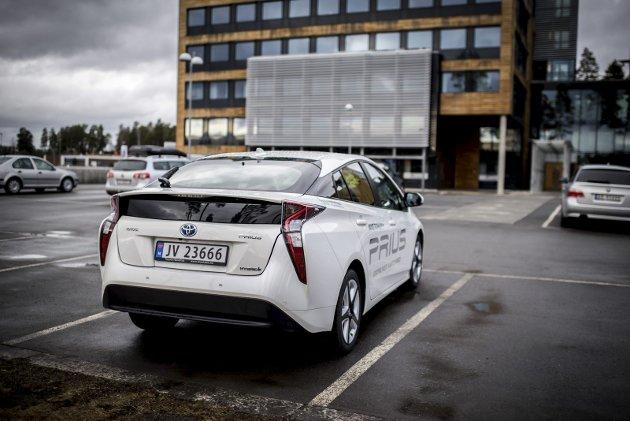 2016 Toyota Prius står på Toyota sin nye platform.