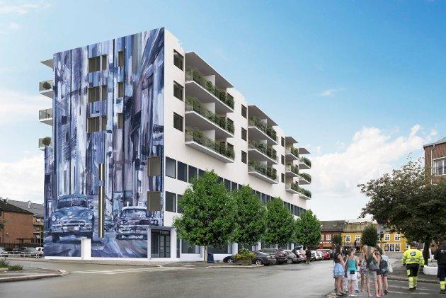 – Hva vil den nye høyden på Thoresen bygget gjøre med sollyset på torget, spør Anne-Berit Haugen Rijken i dette innlegget.