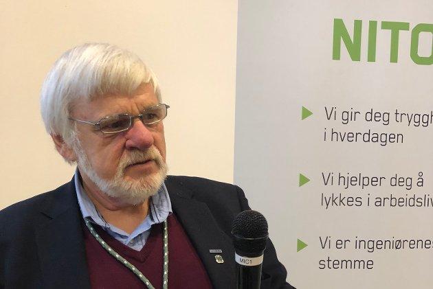 Birger Ødegård, leder NITO Buskerud. Foto: Kari Gjestvang, NITO Buskerud