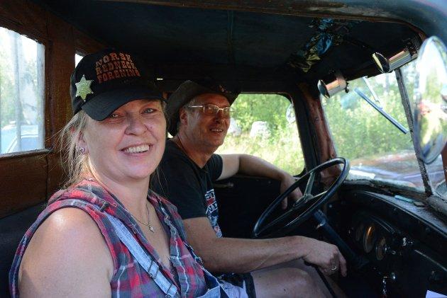 Vesla og Per fra Rednecks-serien.