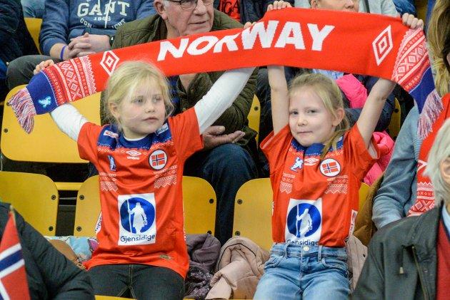 HÅNDBALLFEST: I helgen ble det arrangert landslagsturnering i Hønefoss Arena.