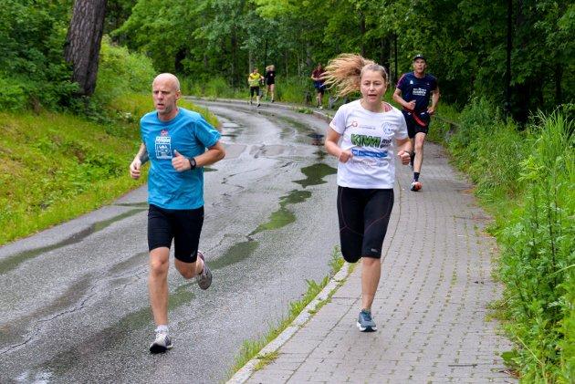 ETAPPETRENING: 8. etappe fra Eggemoen til Jevnaker.