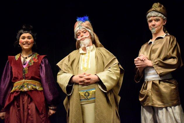SJEFEN SJØL: Ingvild Søreide som Sultanen av Agrabah.