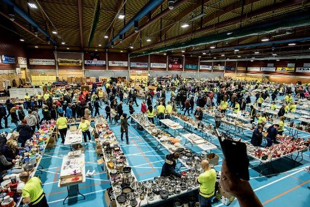 LOPPIS: Skedsmohallen 2017. Foto: Vidar Sandnes
