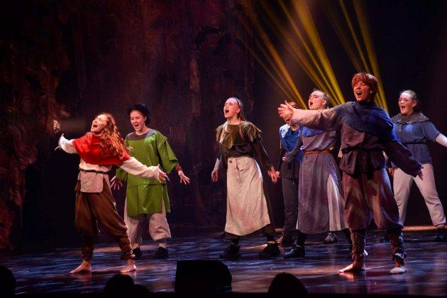 Premiere på Spotlights «Røverdatter» i Hjertnes kulturhus 25.11.20
