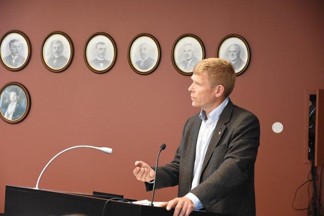 Varaordfører Lars Sæther (Ap)