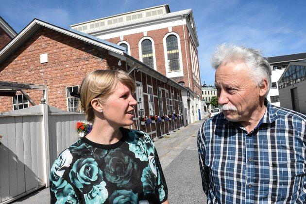 KRITISKE:Cecilie Lerstang, Morten Halvorsen, er kritiske til samarbeidet på borgerlig side hvor De Kristne inngår.