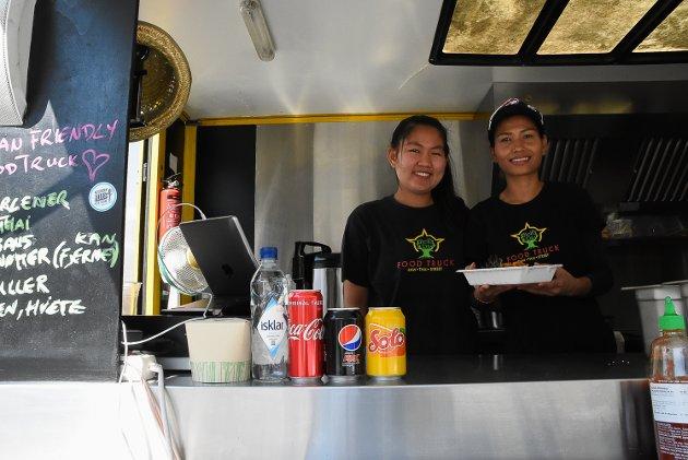 THAI I VINDEN: Thaimat er ett av matinnslagene på årets festival. På Streets of Bangkok får du mildt og sterkt, med kjøtt eller uten kjøtt.
