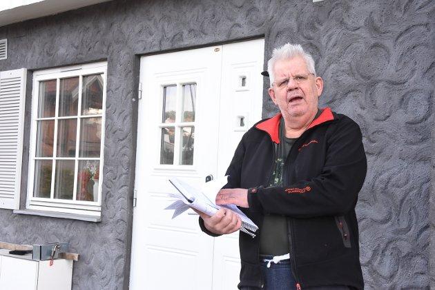 UTÅLMODIG: Tor Furuvald vil ha svar fra ordfører Gry Fulestveit på sine  spørsmål om eiendomsskatt.