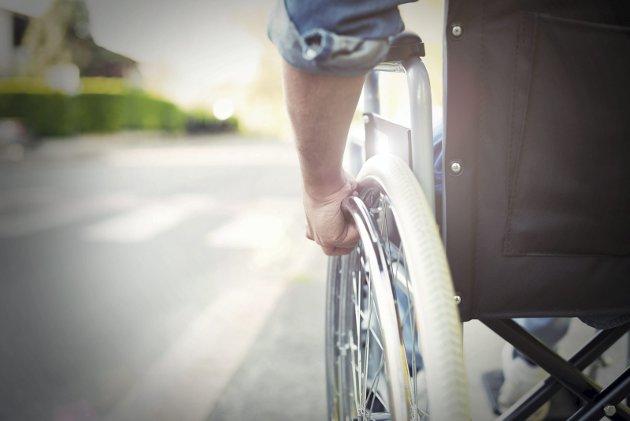 ARBEIDSMARKEDET: Blinde med førerhund kommer nederst på listen, etter rullestolbrukere og tidligere straffedømte. Foto: Shutterstock
