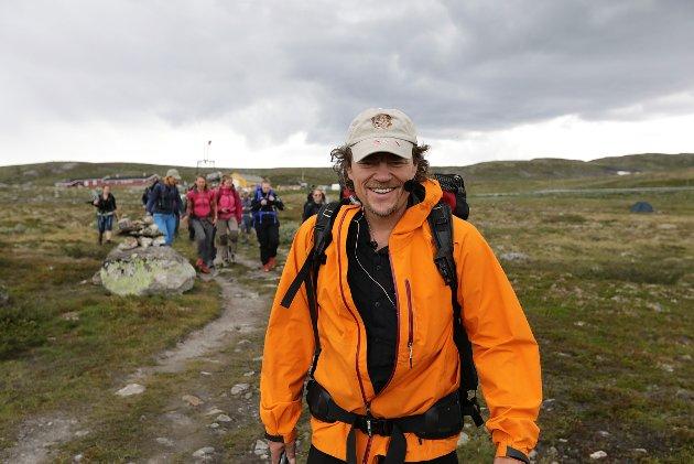 IMPONERER: Reidar Torgersen på Nøtterøy mener Lars Monsen gjør en kjempejobb for å inspirere oss til å bruke norsk natur og komme oss ut av sofaen.