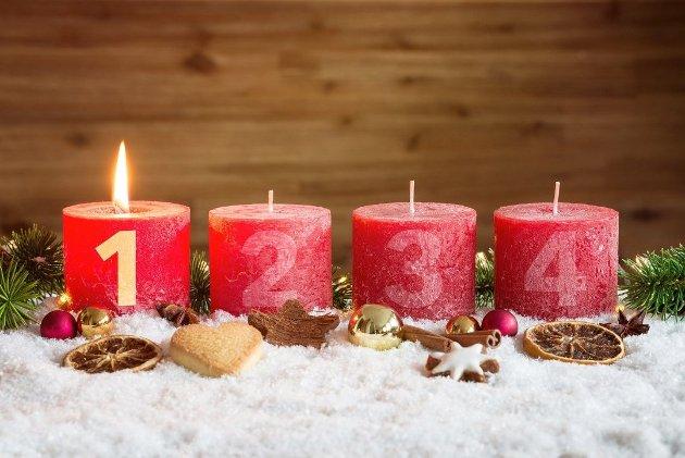 HÅP: Lyset vi har tent i adventstiden gir oss hverdagsglede og håp, skriver Knut Sand Bakken.