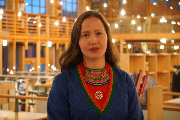 Maja Kristine Jåma.. Foto: Sametinget