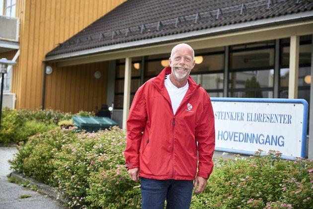 FOR LITE MOTSTAND: Gruppeleder Stein Erik Aalberg i Steinkjer Ap trakk seg som gruppeleder, etter signaler om at partikollegene ønsker seg mer motstand mot den politiske Sp/Høyre-ledelsen i kommunen.