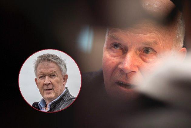 Det ser ut som om de har fanget ham i nettet sitt, skriver kommentator Otto Ulseth om tidligere skiskytterpresidenten Anders Besseberg.