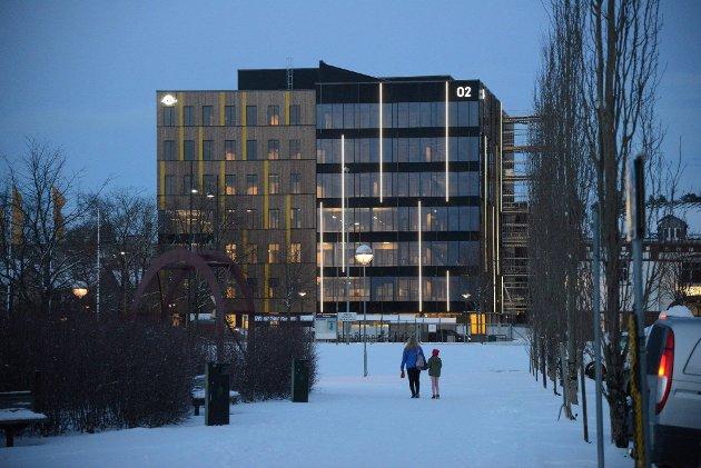 O2-huset i Steinkjer.