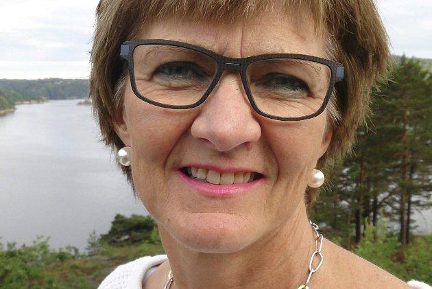 Ordførerkandidat: Marianne Landaas er Høyres ordførerkandidat i Tvedertsand for kommunevalget 2019.