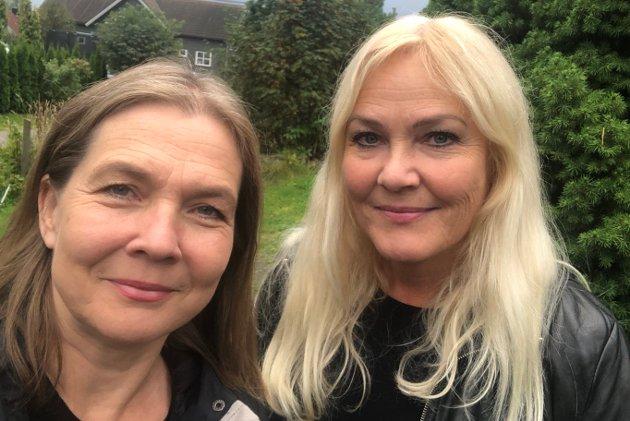 SER ALVORET: – Men vi skal ikke dømme, og støtter Hilde i denne vanskelig tiden, sier Aps gruppeleder Hanne Børrestuen  og fungerende leder Elin Strand i Arbeiderpartiet Nittedal.