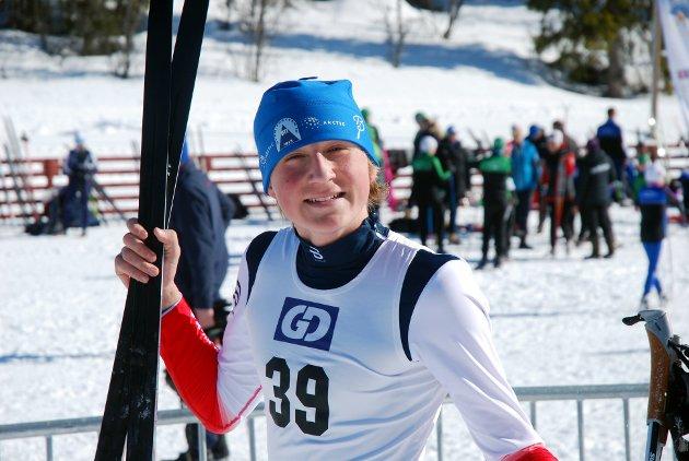 SJETTEMANN: Heine Steinar Sandvold, Øyer-Tretten IF endte på sjetteplass i G14.
