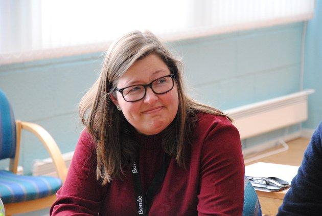 LEDER: Leder i Oppland bondelag, Kristina Hegge.