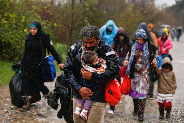 FLYKTNINGKRISE: Det som skjer i Europa er ikke noe Hamar kan overse. (Illustrasjonsfoto: Reuters/NTB Scanpix)