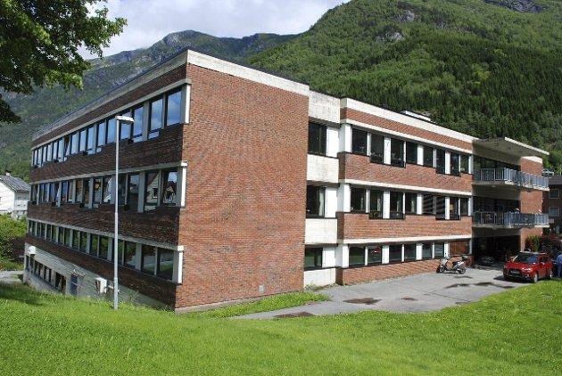 Odda sjukeheim: Kan få redusert antall sykehjemsplasser.arkivfoto