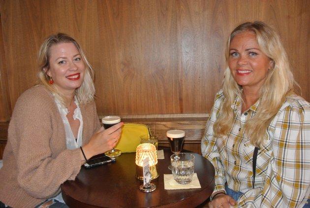 Mette Mari Leseth-Holm (42) og Sonja Helen Moen (46) på Raus.