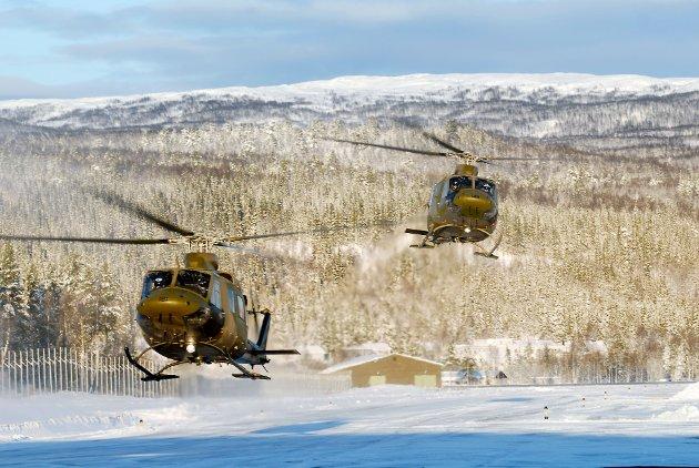 """Ifølge Høyres forsvarspolitiske talsmann vil en ny helikopterskvadron på Bardufoss bli opprettet """"om få år"""".  Her trengs det en viktig avklaring: Hvor mange år er «få år»? skriver Nordlys-kommentator Oddvar Nygård."""