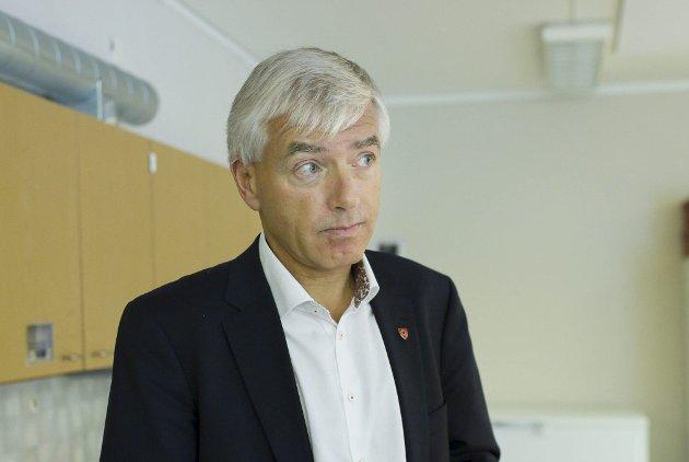 Rådmann Tore Isaksen.