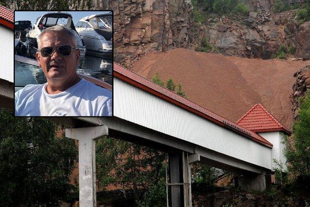 Jon Faret fikk nok da han hørte om Svelvik kommunes vedtak i Tømmerhavn-saken.