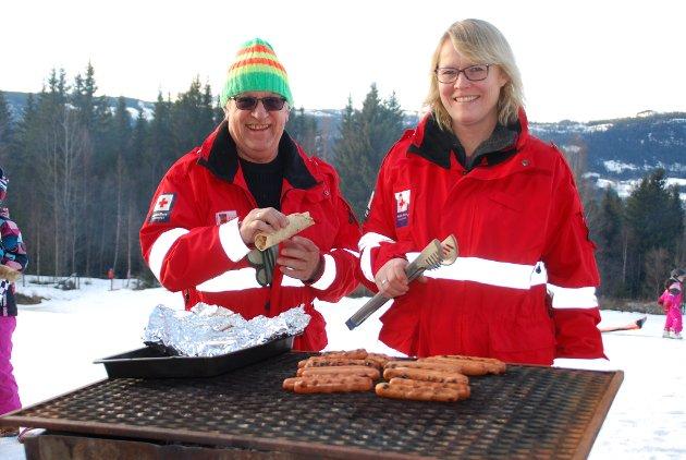 Per og Unni Valland inviterte til en fantastisk utedag på Bjørgo.