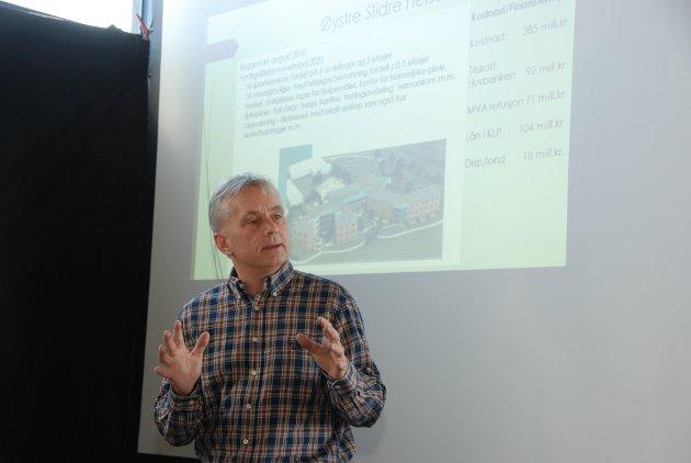 Fylkesmann Knut Storberget leder TV-aksjonen Innlandet.