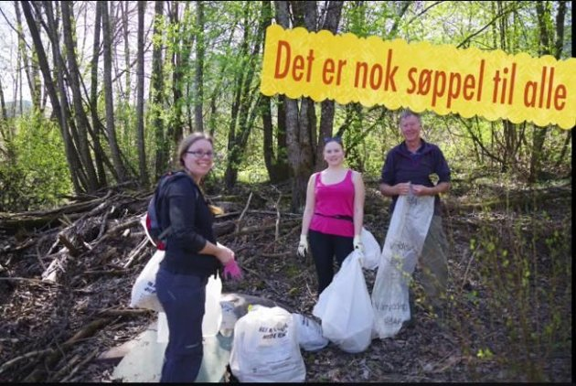 RYDDER ELVA: Nittedal Lions og Nittedal Elveforum rydder langs Nitelva kommende lørdag.