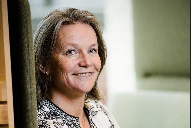Hilde Widerøe Wibe, daglig leder i Norske Trevarer