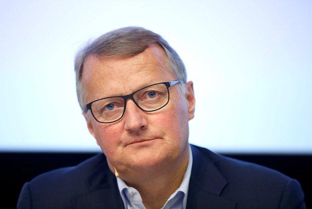 DNB-sjef Rune Bjerke Foto: Terje Pedersen / NTB scanpix
