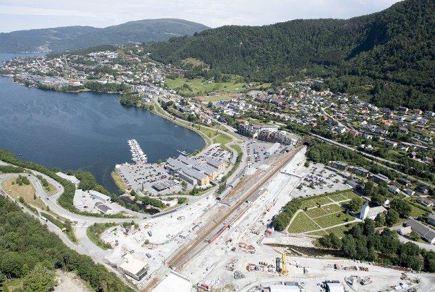 – Bydelen har et stort behov for vekst og utvikling, mener beboeren i Indre Arna. FOTO: ARNE RISTESUND